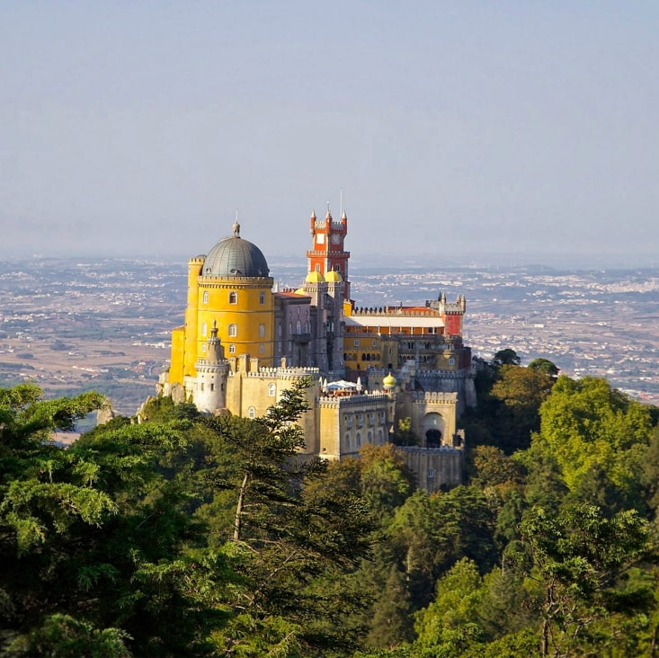 The Pena Castle, Sintra, Portugal
